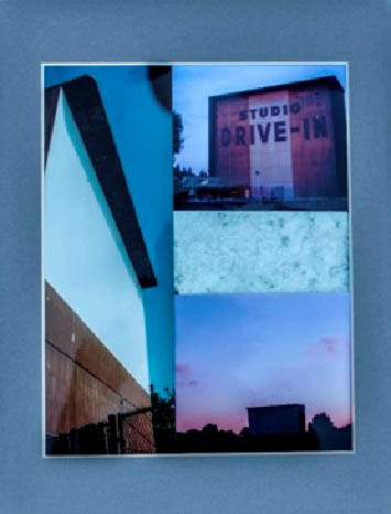 Limited Edition Culver Drive-In collage
