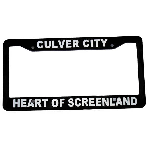 Heart of Screenland license plate frame