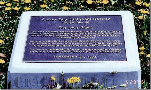 Historic Site #8 marker