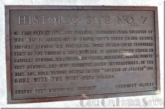 Historic Site #7 marker