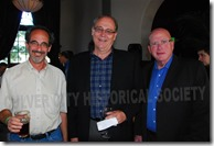 Vice Mayor Scott Malsin, Goran Eriksson and Steve Rose - Culver City Historical Society