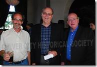 Vice Mayor Scott Malsin, Goran Eriksson and Steve Rose - Culver City Historical Society