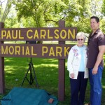 Mrs. Lois Carlson Bridges and CC Mayor Christopher Armenta / Photos by Fred Yglesias
