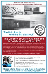 Culver City High School - Culver City Historical Society