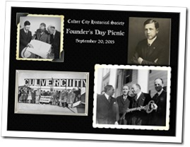 Join the Culver City Historical Society's At Its Founder's Day Picnic