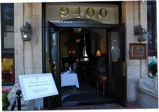 Entrance to the Historic Culver Hotel - Culver City Historical Society