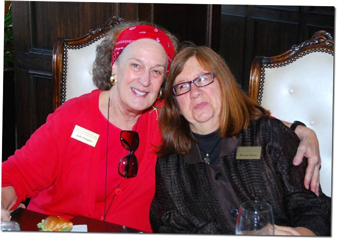 Judy Stangler with Sharon Shore - Culver City Historical Society