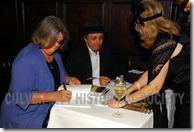 Julie Lugo Cerra signs books - Culver City Historical Society