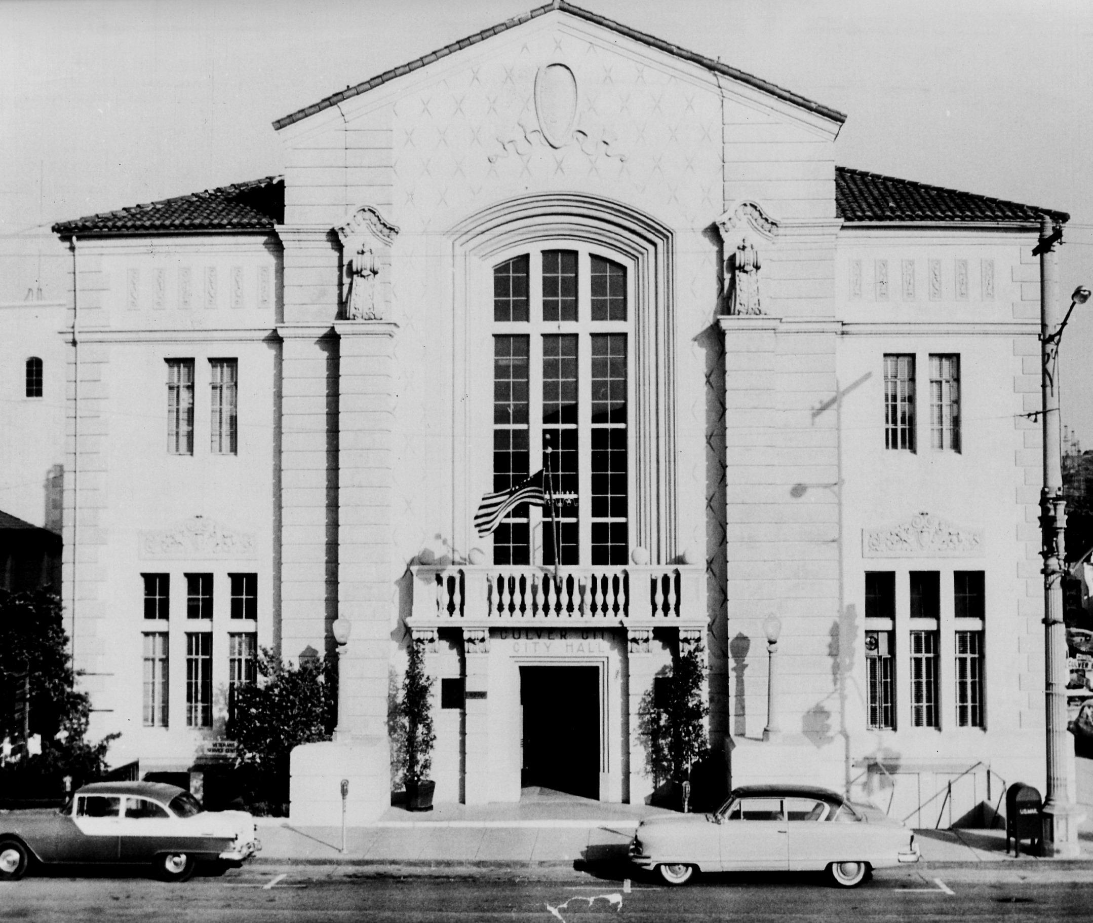 Historic Site 1 1928 City Hall Culver City Historical
