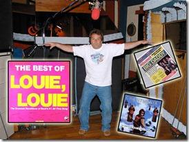 Bob Wayne displayes some of his hits - Culver City Historical Society