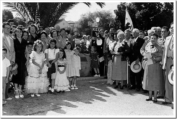 Early fiesta crowd - Culver City Historical Society