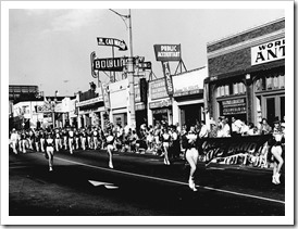 A Fiesta La Ballona parade from the 1950s - Culver City Historical Society