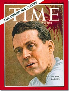 Dr. Paul Carlson on the cover of Time magazine (1964)