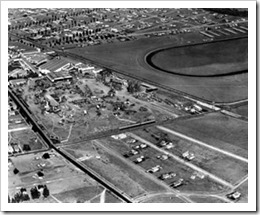 Racetrack from the air - Culver City Historical Society